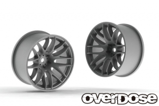 OVERDOSE OD2338 WORK EMOTION M8R (Matte Chrome/OFF+5)