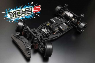 Yokomo YD-2S RWD Drift Car (Plastic Chassis with YG-302 Steering Gyro)