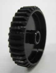 7075 HARD COATED PINION GEAR 48P 34T BLACK
