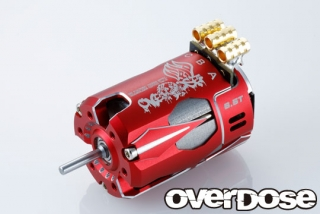 OVERDOSE OD2606 OD Factory Tuned Spec. Brushless Motor Ver.3  10.5T (Red)