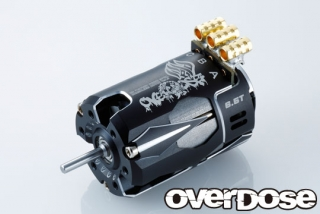 OVERDOSE OD2607 OD Factory Tuned Spec. Brushless Motor Ver.3  10.5T (Black)