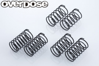 OD2507 High Performance Shock Springφ1.2mm Set(φ1.2/3 type of each/2pcs)