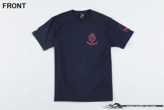 ODW079  Weld T-shirt (short sleeve) Color / Navy Size / XL