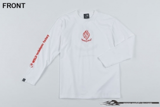 ODW086  Weld T-shirt (long sleeve) Color / White Size / L