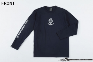 ODW092  Weld T-shirt (long sleeve) Color / Navy Size / XXL