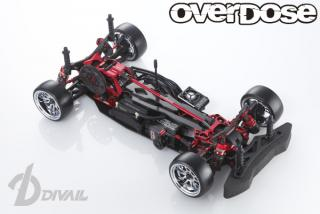 OVERDOSE OD1701 Divall Chassis Kit (Red)