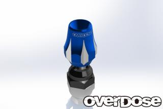OVERDOSE OD1779  Aluminum Antenna Post Type-3 (Blue)