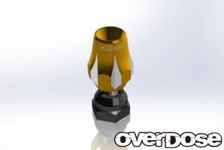 OVERDOSE OD1782  Aluminum Antenna Post Type-3 (Gold)