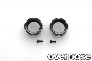 OVERDOSE OD1846a  Aluminum shock adjustment nut (For HG shock / 2pcs)