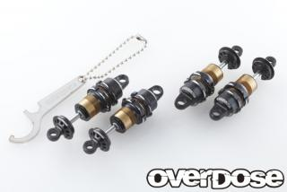 OVERDOSE OD1581  High-grade shock set (total length adjustment type, four sets)