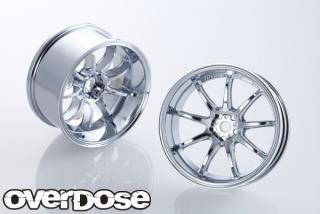 OVERDOSE  OD1720  WORK EMOTION D9R (high chrome / OFF + 7)