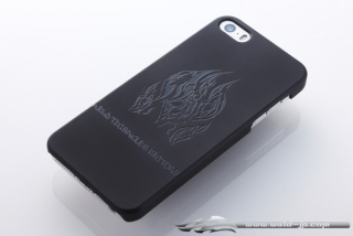 OVERDOSE OD1867 iPhone 5 Case Matte Black / Flame Type