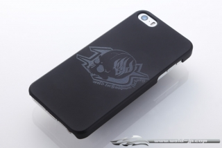 OVERDOSE OD1868 iPhone 5 Case Matte Black / Skull Type