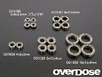 OVERDOSE OD1067  Low Friction Bearing 6x10x3mm (4pcs)
