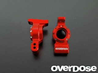 OVERDOSE OD1384 Aluminum Rear Upright (For Doripake / Red)