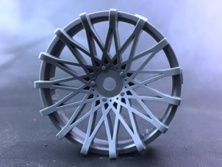 "TT-7528  ""Super RIM"" DISC ""DAHLIA"" Cool GRAY 2pcs"