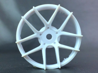 "TT-7543  ""Super RIM"" DISC ""Jasmine"" Heavy WHITE 2pcs"