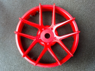 "TT-7580  ""Super RIM"" DISC ""Jasmine"" Hot Red 2pcs"