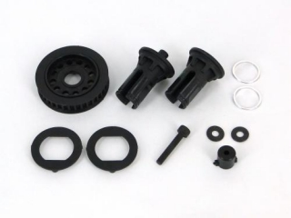 DL127  Rear Solid Axle Set