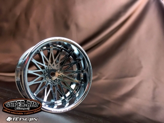 TT-7583  Super rim Chrome RIM02/Dahlia