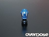 OVERDOSE OD1164  Aluminum Antenna Post Type-2 (Light Blue)