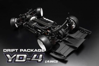 Yokomo YD-4 AWD Drift Car (w/FCD1.5)
