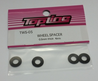 TWS-05 wheel spacer 0.5mm thick