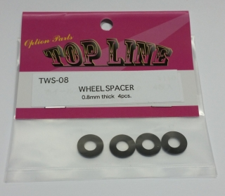 TWS-08 wheel spacer 0.8mm thick