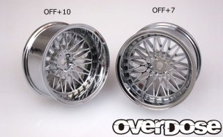 OVERDOSE OD2026 Yaba KING MESH (Mat chrome/OFF+7)