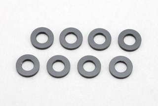 ZC-A3610B  3x6x1,0mm Aluminium Shim(8pcs/Black)
