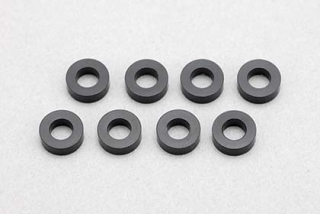 ZC-A3620B  3x6x2,0mm Aluminium Shim(8pcs/Black)