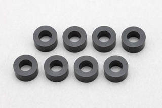 ZC-A3630B  3x6x3,0mm Aluminium Shim(8pcs/Black)
