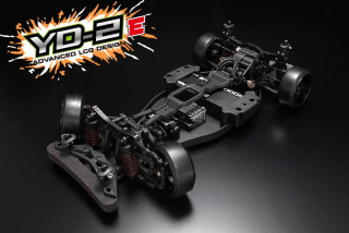 Yokomo YD-2E RWD Drift Car (Plastic chassis with YG-302 Steering gyro)