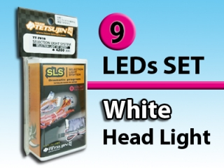TT-7816 【SLS】 9 lighting sets (base, front 4 lights, rear 5 lights)