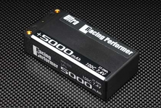 RPB-50S Racing Performer Ultra Li-po 7.4V 5000mAh 100C Short (+ 5mm/-4mm)