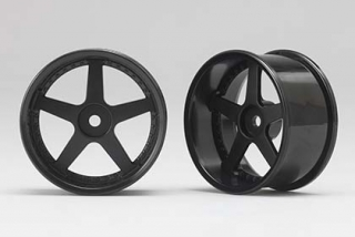 RP-6113B6  Racing Performer Drift Wheel 5 Spokes (6 mm Offset / Black)