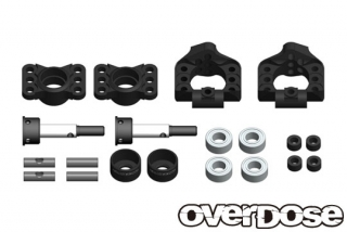 OVERDOSE OD2279  Adjustable Aluminum Rear Upright (For OD, YD-4, YD-2 / Black)