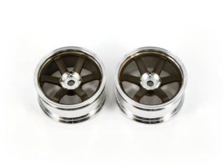 DL393   MS-37SL Wheel Offset + 7 (Bronze / Glossy Plating)