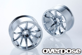 OVERDOSE OD2382 RAYS gram lights 57Transcend (Chrome/OFF+7)