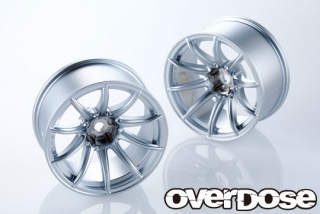OVERDOSE OD2381 RAYS gram lights 57Transcend (Matte Chrome/OFF+7)