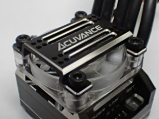 ACUVANCE  High Power Cooling Fan Unit for Xarvis - Black