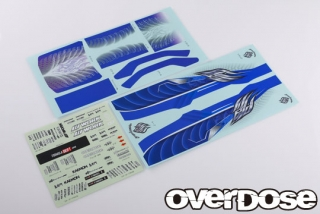 OVERDOSE  OD2529 Weld HYAKUSHIKI GOGOUKI Graphic Decal Set