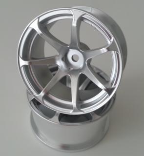 DW-1223MS  AVS model T7 wheel offset3 matte silver