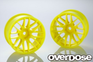 OVERDOSE OD2542 WORK EMOTION M8R (Fluor.Yellow/OFF+7) OD x YEDA Collab.