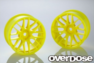 OVERDOSE OD2541 WORK EMOTION M8R (Fluor.Yellow/OFF+5) OD x YEDA Collab.
