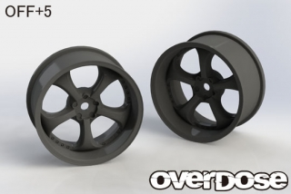OVERDOSE OD2570 Work VS KF (Black/OFF+5)