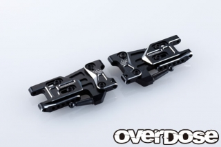 OVERDOSE OD2497 Adjustable Alu. Rear Suspension Arm Type-2 (For OD / Black)