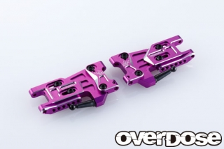 OVERDOSE OD2495 Adjustable Alu. Rear Suspension Arm Type-2 (For OD / Purple)