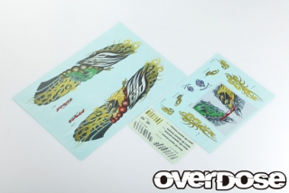OVERDOSE OD1807a Team Weld FujinRaijin Graphic decal set