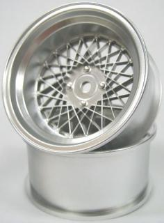 DW-1026MS  MESH WHEEL Reinforced Version OFFSET6 MATTE SILVER